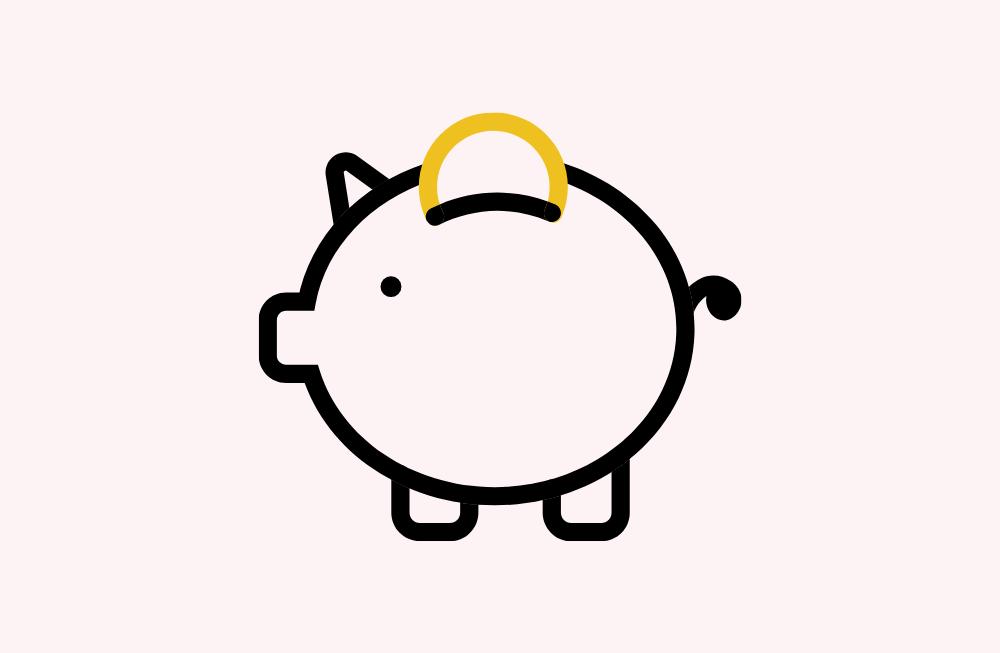 12 tips om geld te besparen voor mensen die dat niet willen
